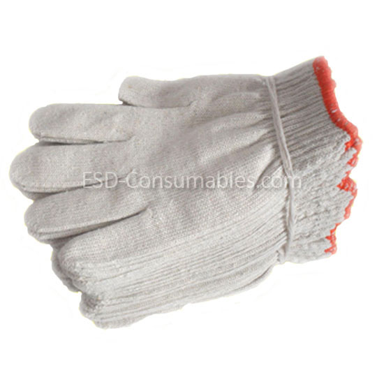Cotton Nitted Gloves